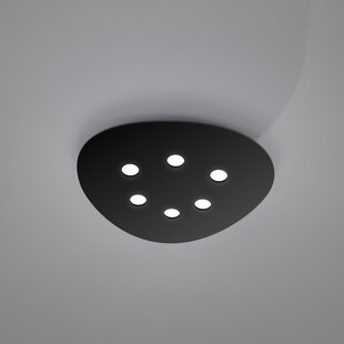 ZANEEN design Scudo 6-Light Flush Mount
