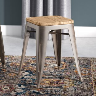 Price comparison Georgii 18 Bar Stool (Set of 4) by 17 Stories Reviews (2019) & Buyer's Guide