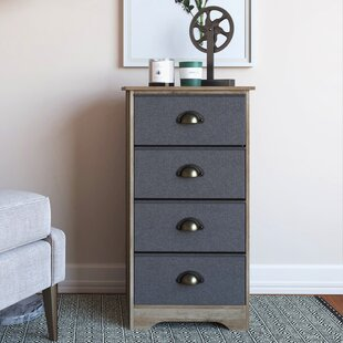 Chasse 4 Drawer Dresser By Union Rustic