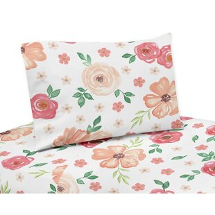 Watercolor Floral Sheet Set by Sweet Jojo Designs Sale