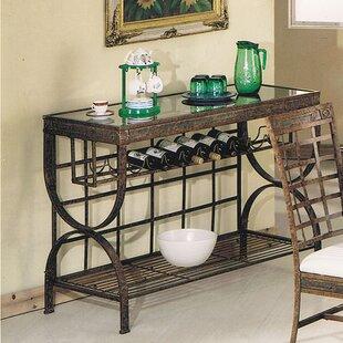 A&J Homes Studio Cleopatra Bar Cart