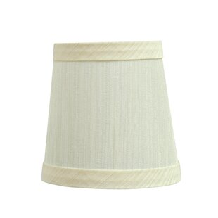 Clip On 4'' Fabric Empire Lamp Shade