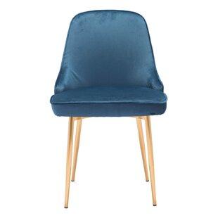 Coleshill Dining Chair Navy Velvet