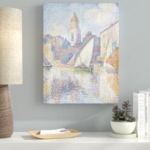 Canvas Paul Signac Wall Art You Ll Love In 2020 Wayfair