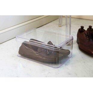 Plastic Shoe Storage Box By Symple Stuff