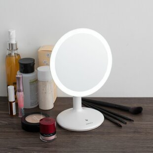 Affordable Lesley LED Adjustable Light Makeup Mirror By Symple Stuff