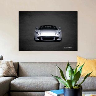 'Porsche Carrera GT' Graphic Art Print on Canvas By East Urban Home