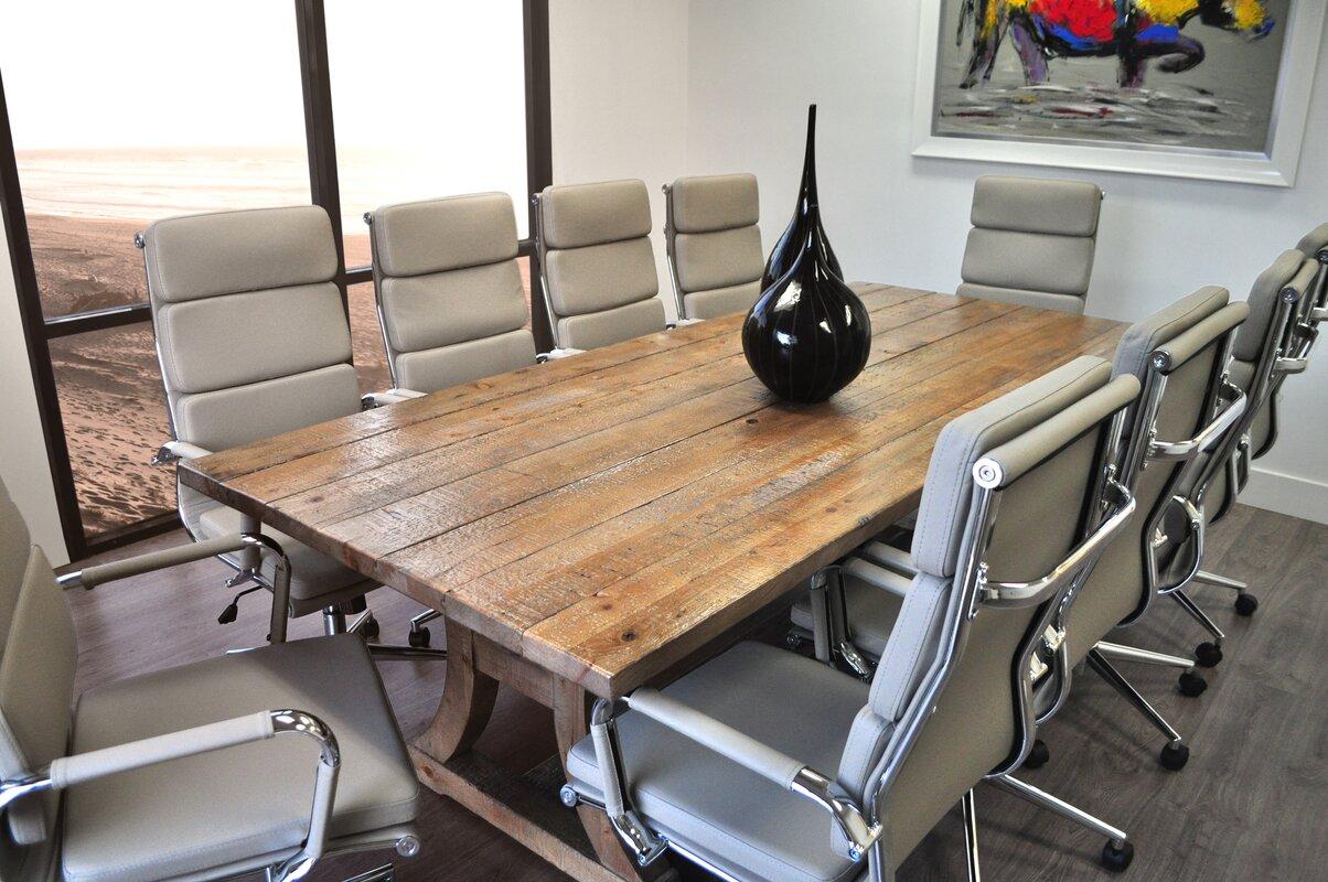 default_name - SolisPatio 11 Piece Ligna 8' Rectangular Conference Table Set