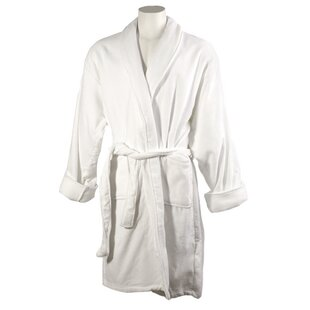 Women's 100% Cotton Terry Cloth Bathrobe
