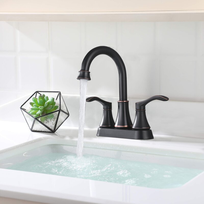 Bathlet Drown Centerset Bathroom Faucet With Drain Assembly Reviews Wayfair