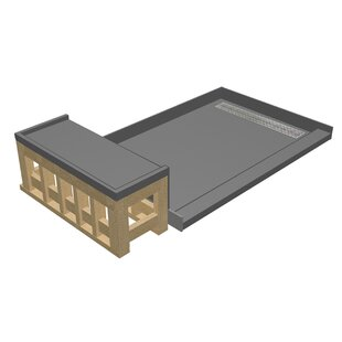 Tile Redi Base'N Bench 36