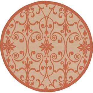 Staffordshire Beige Indoor/Outdoor Area Rug by Charlton Home