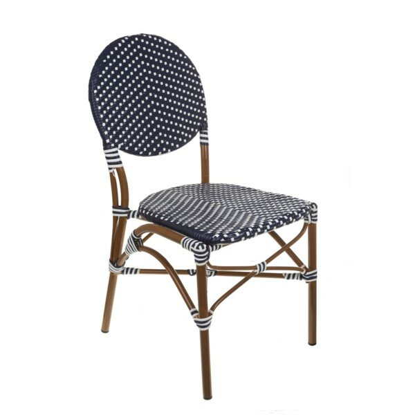 Aspenbrands French Café Stacking Patio Dining Chair