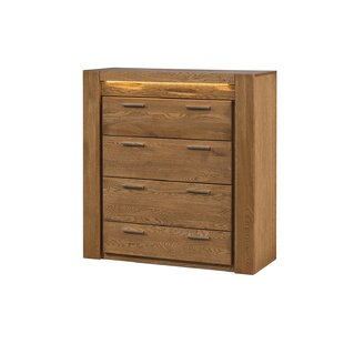 Jamar 4 Drawers Standard Dresser/Chest