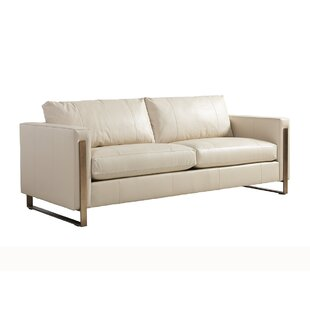 Shop Shadow Play Leather Sofa by Lexington