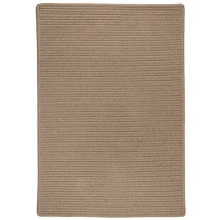 Oakland Hand-Woven Brown Indoor/Outdoor Area Rug