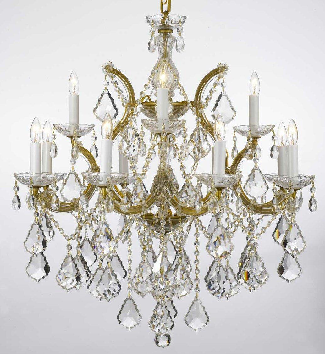 House Of Hampton Keenum 13 Light Candle Style Classic Traditional Chandelier Wayfair