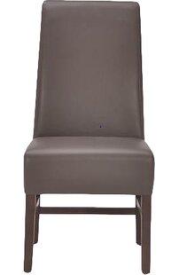 Sunpan Modern 5West Habitat Genuine Leather Upholstered Dining Chair (Set of 2)
