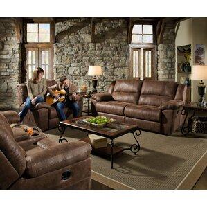 Phoenix Mocha Configurable Living Room Set