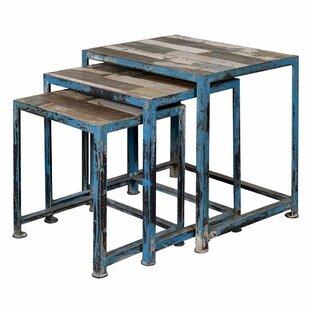 Williston Forge Harbin 3-Piece Nesting Table Set