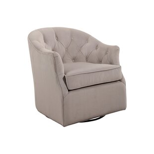 Guthridge Swivel Club Chair by Alcott Hill