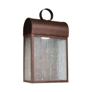 Affordable Orpheus 1-Light Outdoor Wall Lantern By Brayden Studio