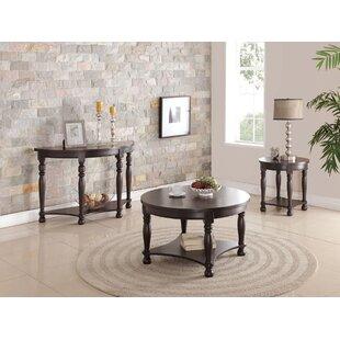 A&J Homes Studio Denni 3 Piece Coffee Table Set
