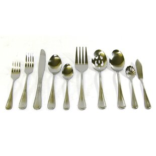 45 Piece Flatware Set, Service for 8