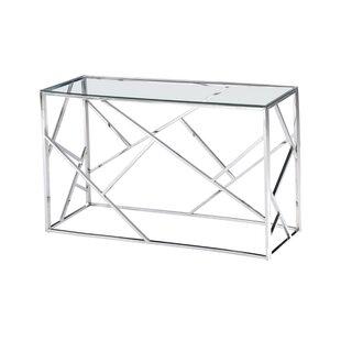 Orren Ellis Welton Angled Console Table