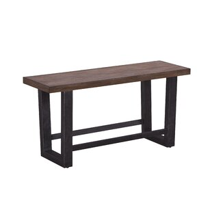 Brayden Studio Quillen Counter Height Wood Bench