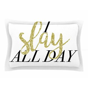 Chelsea Victoria 'I Slay All Day' Mixed Media Sham