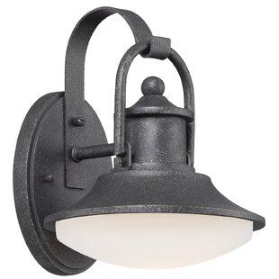 Best Reviews Farias 1-Light Outdoor Barn Light By Laurel Foundry Modern Farmhouse