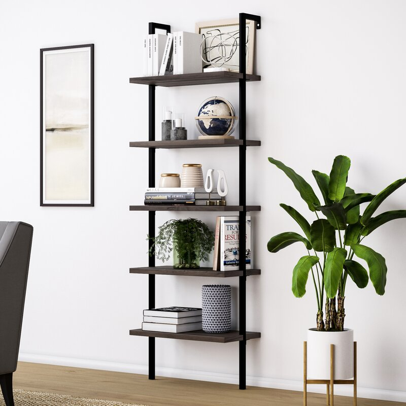 Orren Ellis Moskowitz Ladder Bookcase & Reviews