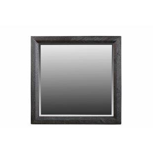 Gracie Oaks Loyd Square Accent Mirror