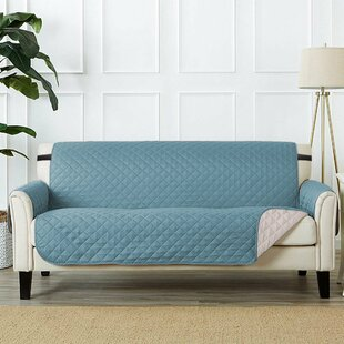 Read Reviews T-Cushion Sofa Slipcover by Winston Porter Reviews (2019) & Buyer's Guide