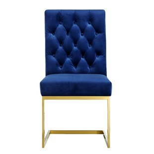 Germana Upholstered Dining Chair (Set of ..