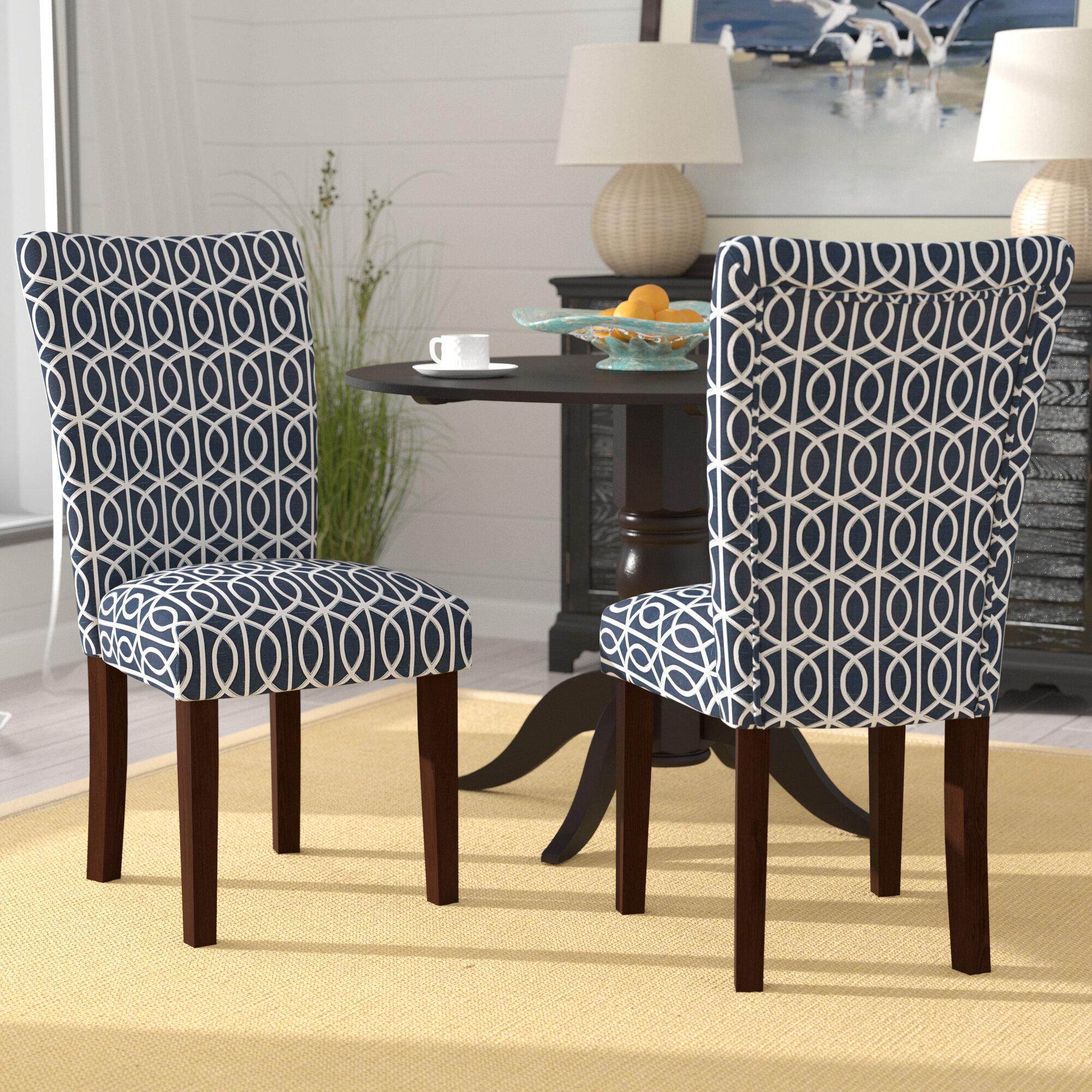 Merveilleux Breakwater Bay Zariyah Parsons Trellis Upholstered Dining Chair U0026 Reviews |  Wayfair