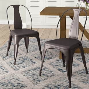 Sasha Vintage Stacking Dining Chair (Set ..