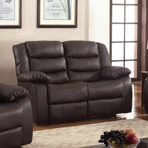 Casta Reclining Loveseat by Living In Style