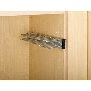 Pull-Out Side Mount Tie Rack by Rev-A-Shelf