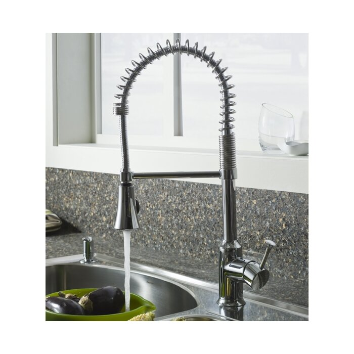 American Standard Pekoe Pull Down Single Handle Kitchen Faucet ...