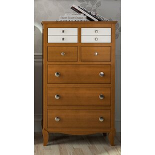 Rennes 7 Drawer Chest Of Drawers By Fleur De Lis Living