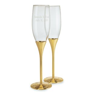 wedding toasting flutes wayfair