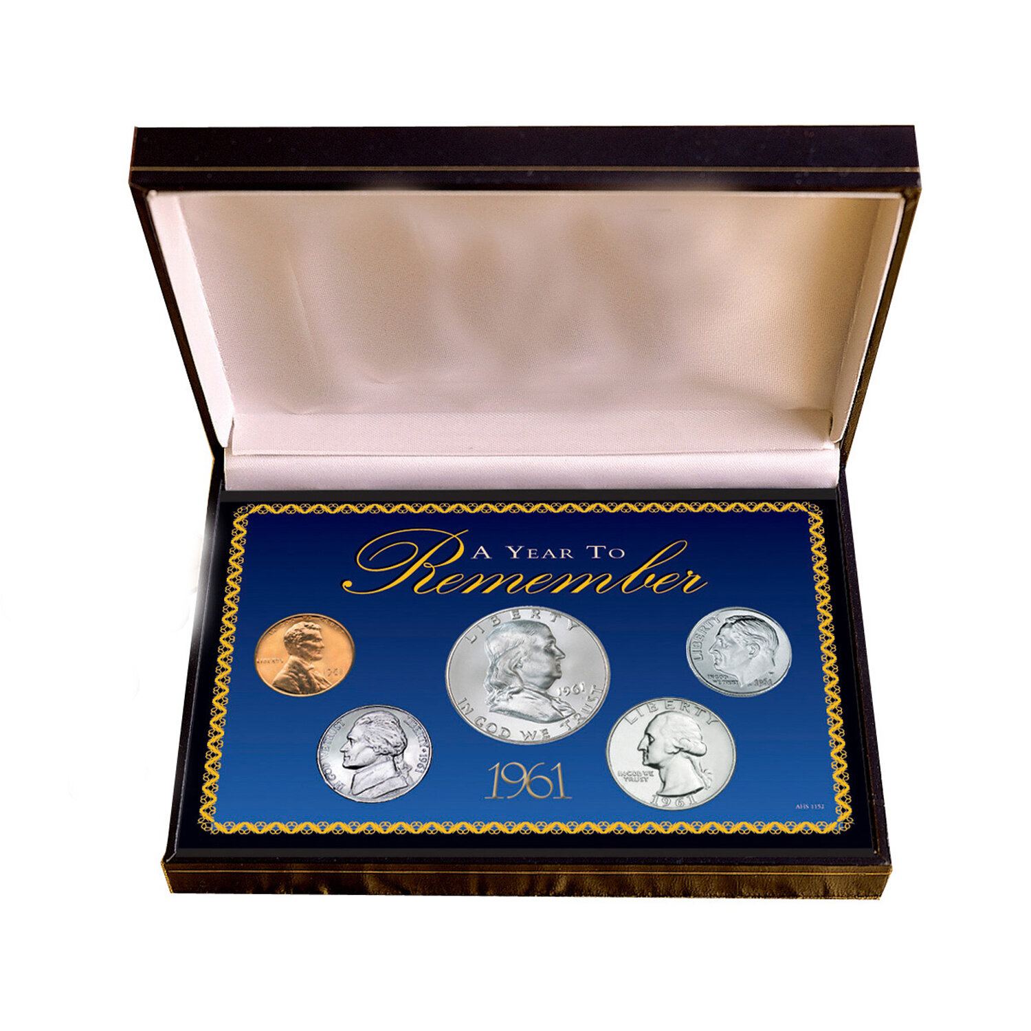 American Coin Treasures Silvertone Year To Remember Dime