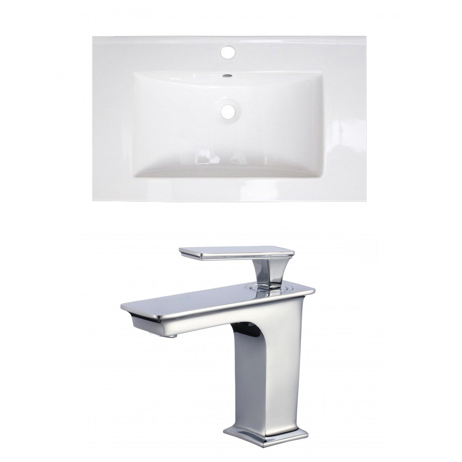 Wrought Studio Kemmel 32 Single Bathroom Vanity Top Wayfair