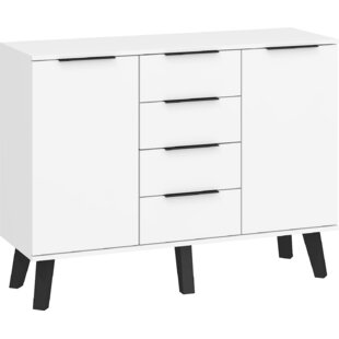 Bradburn 4 Drawers Combi Chest By Brayden Studio