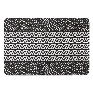 Wind Night by Pom Graphic Design Bath Mat
