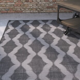 Savings Witham Charcoal/Gray Area Rug By House of Hampton