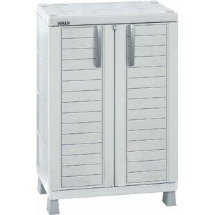 37 H x 26 W x 18 D Storage Cabinet by RIMAX