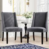Elmo Wingback Chair (Set of 2) by Willa Arlo Interiors